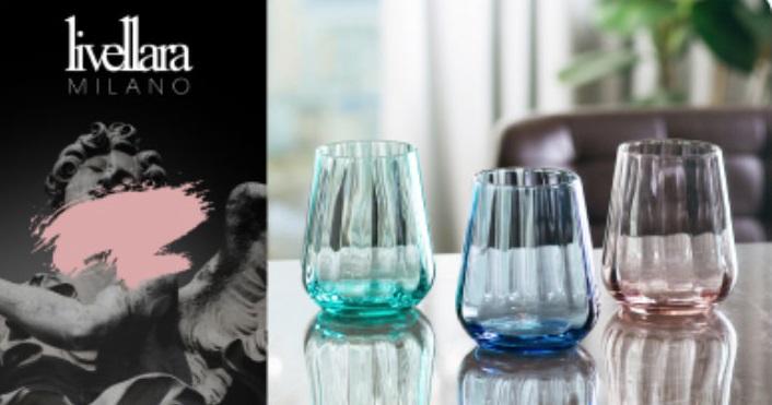 Набор цветных стаканов