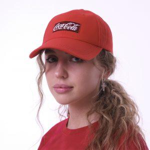 Красная кепка Coca-Cola Neon Logo