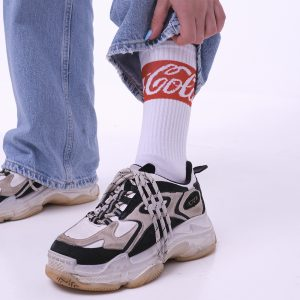 Белые носки Coke